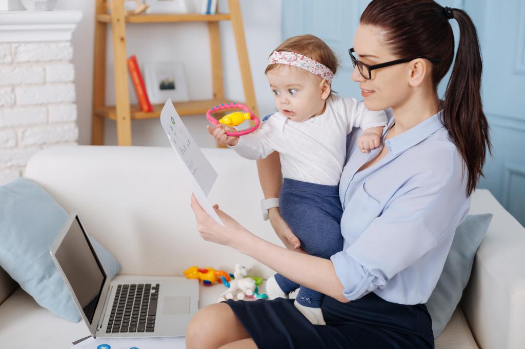 Материнство и карьера: как совместить
