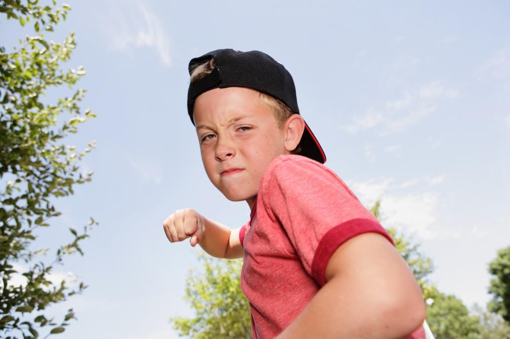 Детские драки причины и способы