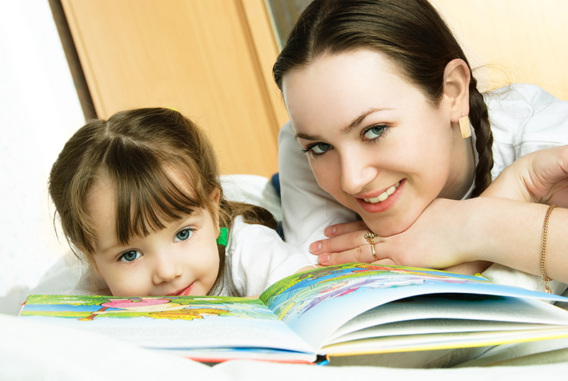 Читать сказку ребенку