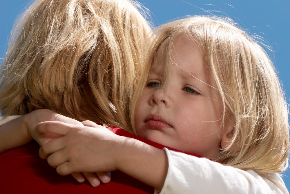 Дайте ребенку выплакаться