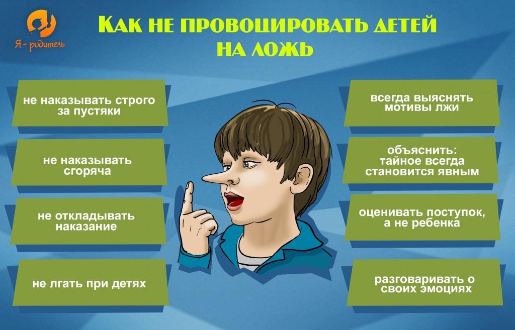 Как не провоцировать детей на ложь